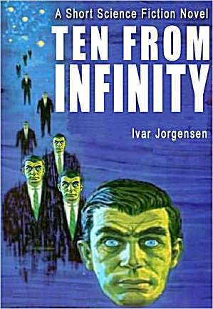 "1963 ""Ten from Infinity"" Sci-Fi Book (Image1)"