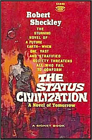 1960 'The Status Civilization' Sheckley Sci-Fi Book (Image1)