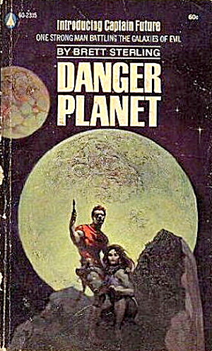 "1945 ""danger Planet"" Sterling Sci-fi Book"