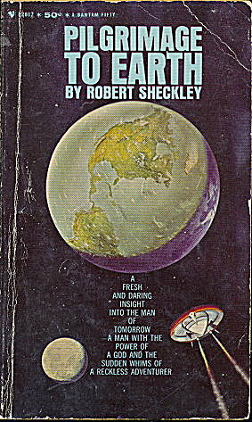 1964 'Pilgrimage to Earth' Robert Sheckley Sci-Fi Book (Image1)