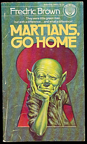 'Martians Go Home' Frederic Brown Sci-Fi Book (Image1)