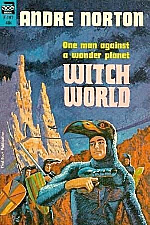 1963 'Witch World' Andre Norton Ace Paperback (Image1)