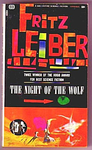 1966 'the Night Of The Wolf' Fritz Leiber Sci-fi Book