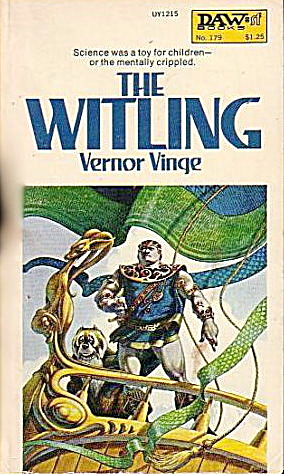 """The Witling"" Vernor Vinge Sci Fi Book (Image1)"