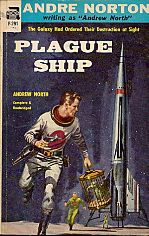 1956 'Plague Ship' Andre Norton Ace Book (Image1)