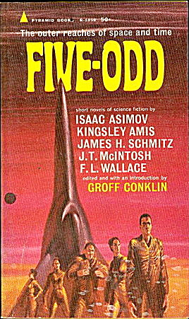 "1964 ""Five-Odd"" Science Fiction Book (Image1)"