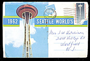 1962 Seattle World's Fair Postcard Book