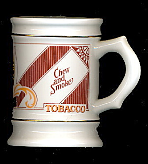 Vintage Bloch Bros Tobacco Shaving Mug