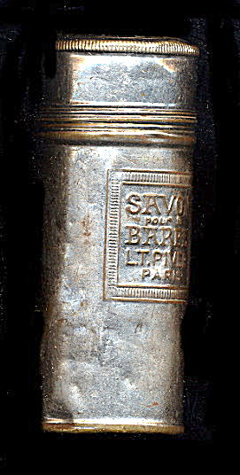 Early 1900s Men's Savon Pour Barbe (Barber) Tin