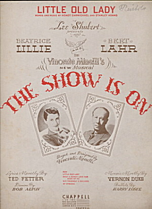 1936 'The Show is On' Musical Sheet Music (Image1)