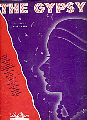 """The Gypsy"" 1946 Sheet Music (Image1)"