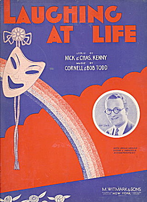 "1914 ""laughing At Life"" Sheet Music"