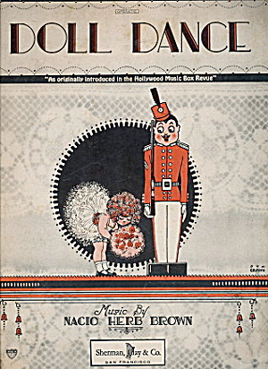 "1926 ""doll Dance"" Sheet Music"