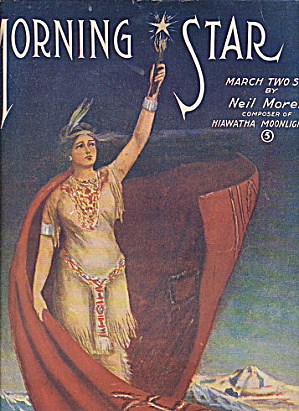 1906 'Morning Star' Indian Maiden Sheet Music (Image1)