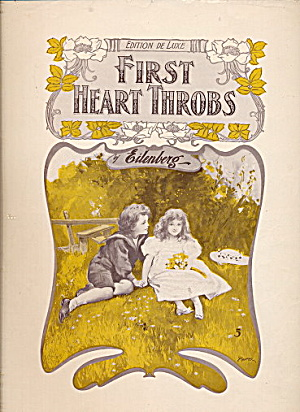 1907 'first Heart Throbs' Children Cover Sheet Music