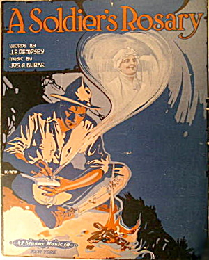 "Patriotic ""A Soldier's Rosary"" Sheet Music (Image1)"