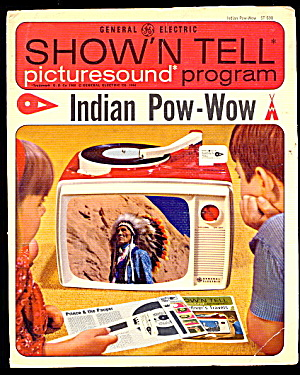 "1964 Show'n Tell ""Indian Pow-Wow"" GE Record  (Image1)"