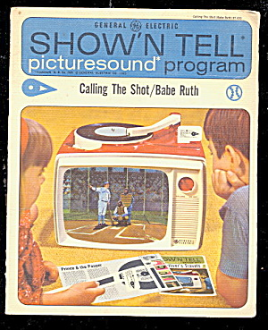 "Show'n Tell ""Babe Ruth"" GE Record  (Image1)"