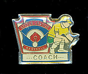 Little League Baseball Coach Pin (Image1)