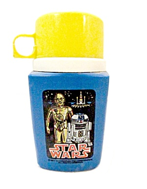 1977 Star Wars C3po/r2d2 Thermos Bottle
