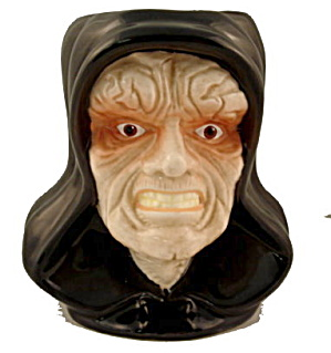 1996 Applause Star Wars 'Emperor Palpatine' Figural Mug (Image1)
