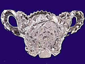 Imperial Glass 1917-1937  'Nucut' Sugar Bowl (Image1)