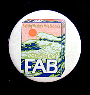1920s Advertising Colgate FAB Tape Measure (Image1)