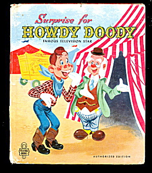 Surprise For Howdy Doody 1951 Tell-a-tale Book