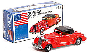 1978 Tomica #f52 Packard Coupe Roadster In Box