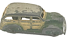 1940s Tootsietoy Metal Toy #239 Station Wagon