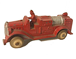 1928 Tootsietoy Fire Engine Truck