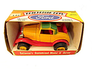 1970s Tootsietoy Ford Model A Roadster Mint In Box