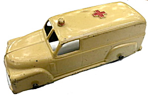 "1950 Tootsietoy 4"" Panel Chevy Ambulance"