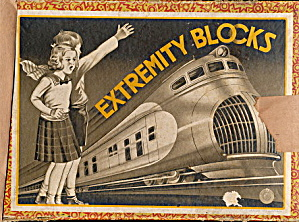 1950s Extremity Blocks - Wooden, Locomotive Cover