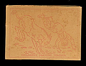 ca 1920s Children's Drawing Teacher Stencils (Image1)