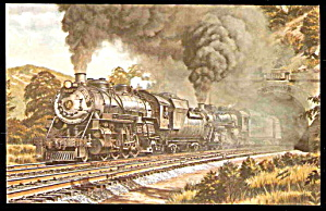 1973 Baltimore & Ohio 4633 Locomotive Postcard (Image1)