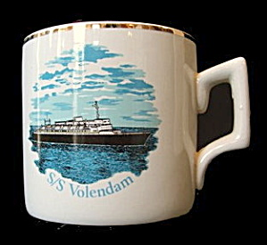 1978 'S/S Volendam' Holland America Ship Coffee Mug (Image1)