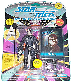 Star Trek (Generations) Borg Mint on Card (Image1)