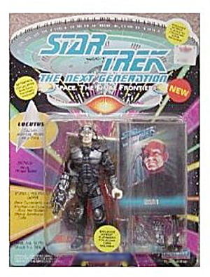 Star Trek (Generations) Locutus Mint On Card