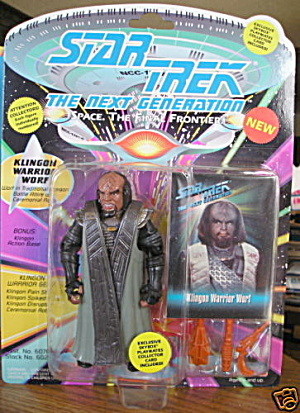 Star Trek (Generations) Klingon Warrior Worf MOC (Image1)
