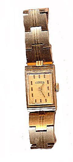 Vintage Russian Cornavin Goldtone Ladies Watch