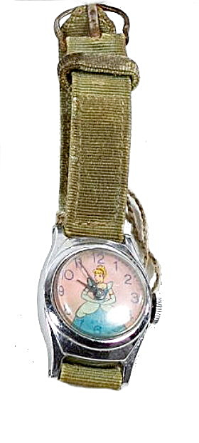 1950's Us Time Cinderella Manual Wind Wrist Watch