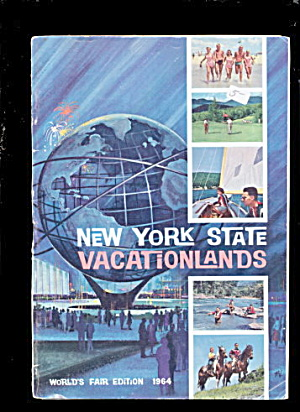 New York State Vacationlands 1964-65 World Fair Book