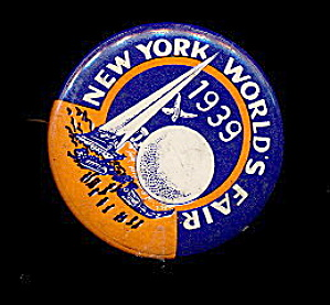 1939 New York World's Fair Pinback (Image1)