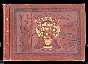 1893 Chicago's Fair Columbian Expo Book