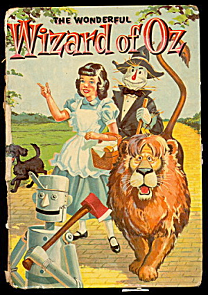 "1957 Whitman ""wizard Of Oz"" Book"