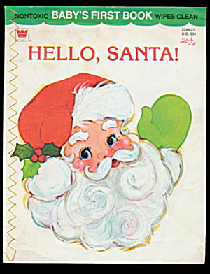 "1977 ""Hello, Santa"" Baby's First Book (Image1)"