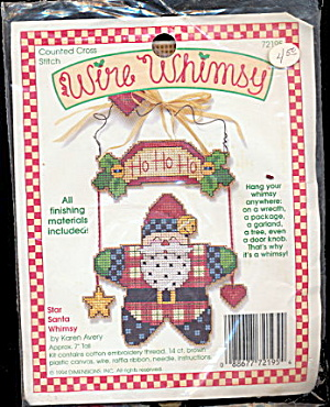 1994 Wire Whimsy Santa Claus Craft Kit