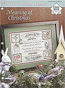 """Meaning of Christmas"" Cross Stitch Pattern (Image1)"