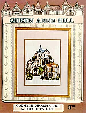 Queen Anne Hill Victorian Home- Cross Stitch Pattern (Image1)